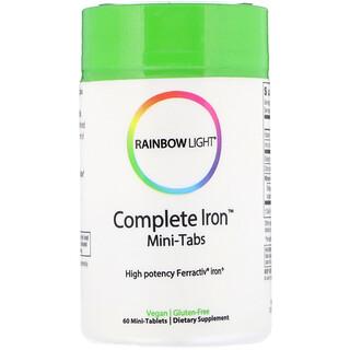 Rainbow Light, Complete Iron, Mini-Tabs, 60 Mini Tablets