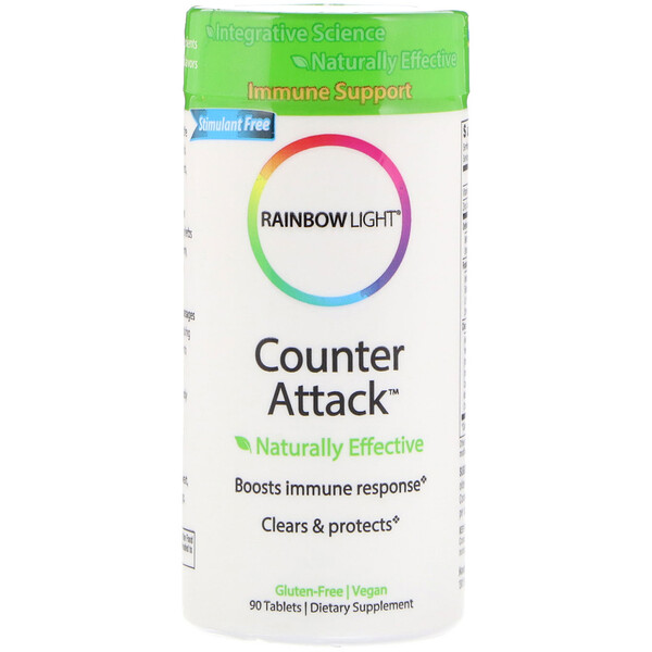 Counter Attack, Immune Support, 90 Tablets