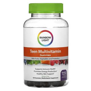 Rainbow Light, Teen's Multivitamin, Blueberry , 120 Gummies