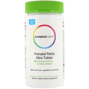 Раинбов Лигхт, Prenatal Petite Mini-Tablet, 180 Mini-Tablets отзывы покупателей
