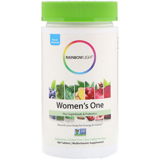 Rainbow Light, Women's One, 180 Tablets