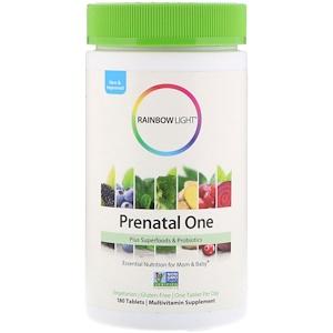 Раинбов Лигхт, Prenatal One, 180 Tablets отзывы покупателей