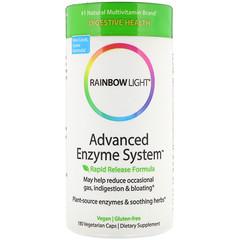 Rainbow Light, Advanced Enzyme System,快速釋放配方,180粒素食膠囊