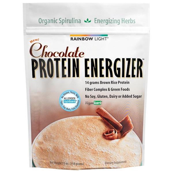 Rainbow Light, Protein Energizer, Chocolate, 11 oz (318 g) (Discontinued Item)