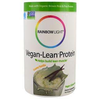 Rainbow Light, Vegan-Lean Protein, Creamy Vanilla, 13.8 oz (391 g)