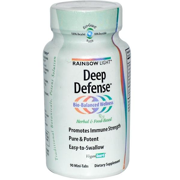 Rainbow Light, Deep Defense, 90 Mini-Tabs (Discontinued Item)