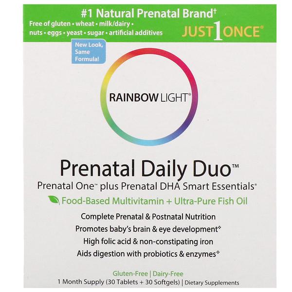 Rainbow Light Prenatal Daily Duo Prenatal One Plus