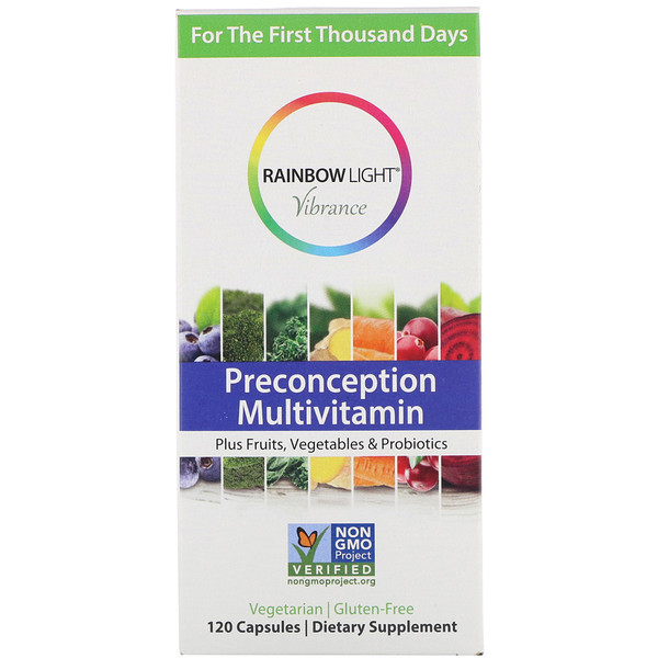 Rainbow Light, Vibrance, Preconception Multivitamin, 120 Capsules (Discontinued Item)