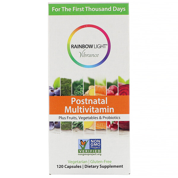 Rainbow Light, Vibrance, Postnatal Multivitamin, 120 Capsules