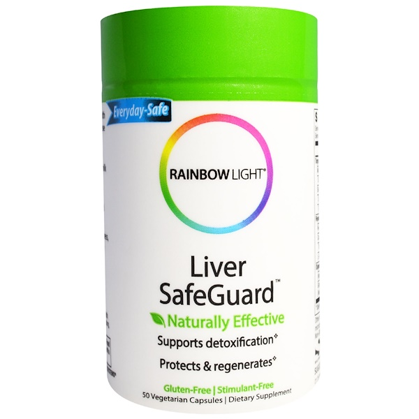 Rainbow Light, Liver SafeGuard, 50 Veggie Caps (Discontinued Item)