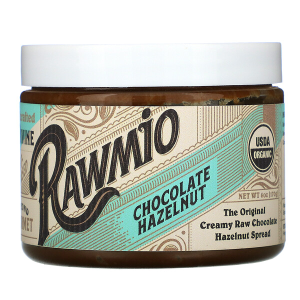Rawmio, Chocolate Hazelnut Spread, 6 oz (170 g)