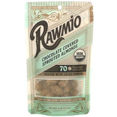 Купить Rawmio Chocolate Covered Sprouted Almonds, 2 oz (56.7 g)