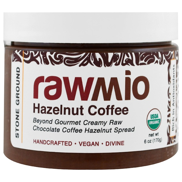 Rawmio, Organic, Hazelnut Coffee, 6 oz (170 g) (Discontinued Item)