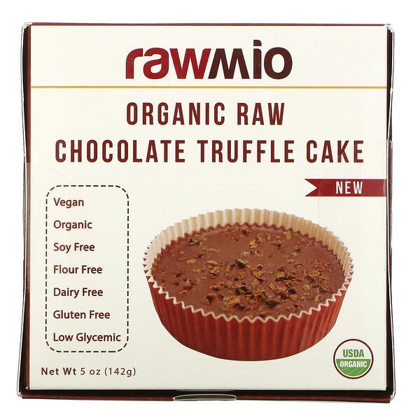 Rawmio, Organic Raw Chocolate Truffle Cake, 5 oz (142 g)