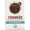 Rawmio, Organic Active Superfood Raw Chocolate Bark, 1.76 oz (50 g)