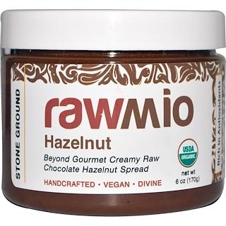 Rawmio, Crema chocolate de avellana para untar, 6 oz (170 g)