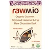 Rawmio, Organic Gourmet Hazelnut & Fig Raw Chocolate Bark, 1.76 oz (50 g)