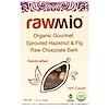 Rawmio, البندق والتين الخام العضوي، الشوكولاته، 1.76 أوقية (50 غ)