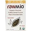 Rawmio, Organic Gourmet Puffed Cereal Crunch Raw Chocolate Bark, 1.76 oz (50 g)