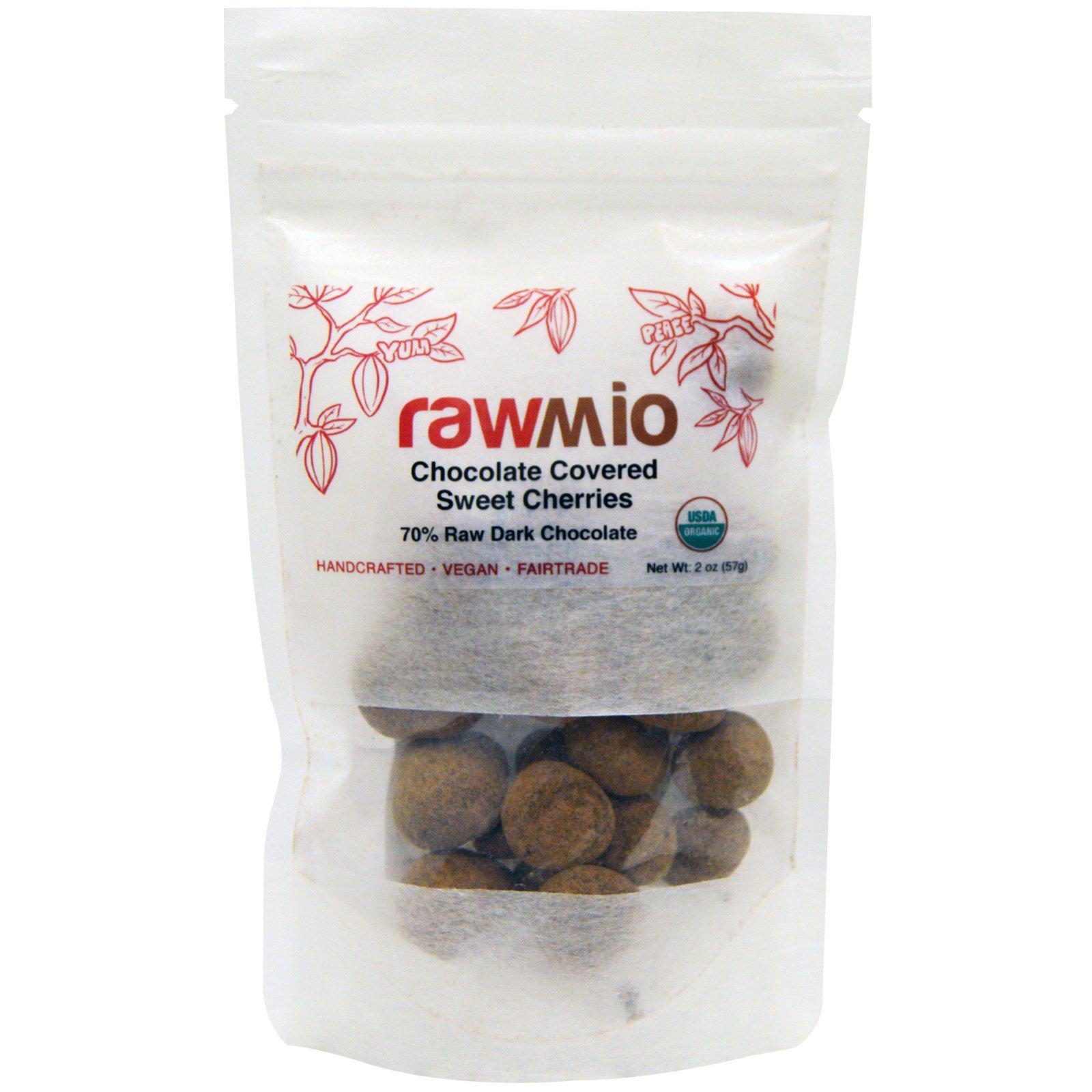 Rawmio, Черешня в шоколаде, 2 унции (57 г)