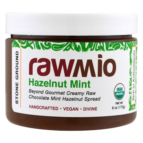 Rawmio, Organic, Hazelnut Mint, 6 oz (170 g) (Discontinued Item)