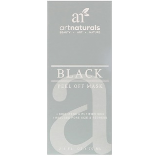Artnaturals, Schwarze Peel Off-Maske, 2,4 fl oz (70 ml)