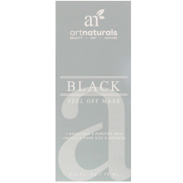 Artnaturals, Máscara Negra Peel-Off, 2.4 fl oz (70 ml) (Discontinued Item)