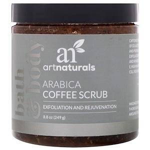 Арт Натуралс, Arabica Coffee Scrub, 8.8 oz (249 g) отзывы