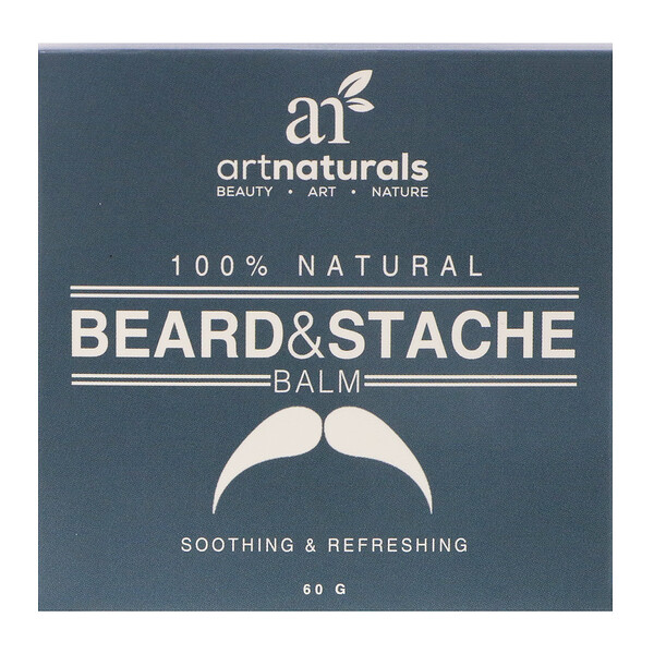 Artnaturals, 100 % naturel, Baume barbe et moustache, 60 g