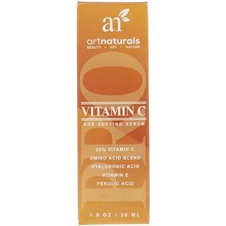 Artnaturals, Vitamine C, Âge Défiant Sérum, 1 fl oz (30 ml)