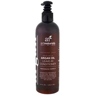 Artnaturals, Condicionador Leave-In de Óleo de Argan Orgânico, Fórmula Terapêutica, 12 fl oz (354,9 ml)