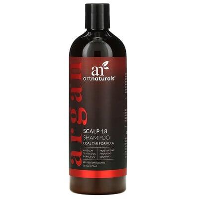 Купить Artnaturals Шампунь Scalp 18, формула с коксовым дегтем, 473 мл (16 жидких унций)