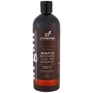 Artnaturals, Scalp 18 Medicated Coal Tar Shampoo, 16 fl oz (473 ml)