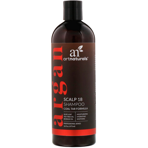 Scalp 18 Shampoo, Coal Tar Formula, 16 fl oz (473 ml)