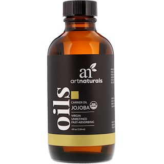 Artnaturals, Carrier Oil, Jojoba, 4 fl oz (118 ml)
