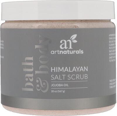 Купить Artnaturals Скраб с гималайской солью, 20 унц. (567 г)