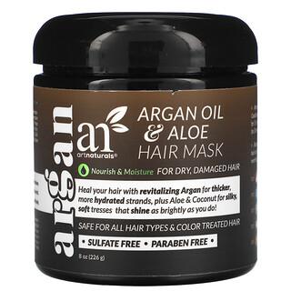 Artnaturals, Argan Oil & Aloe Hair Mask, 8 oz (226 g)
