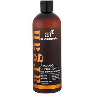 Artnaturals, Óleo de Argan Condicionador, Tratamento de Crescimento Capilar, 16 fl. oz. (473 ml)