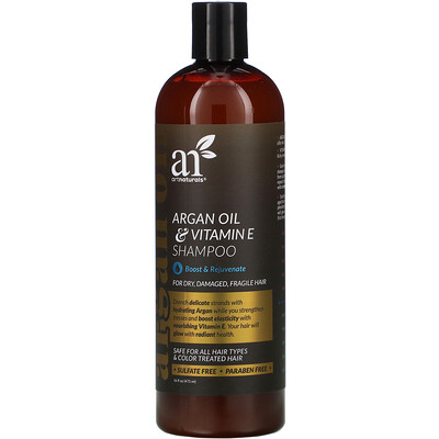 Artnaturals Argan Oil & Vitamin E Shampoo, 16 fl oz (473 ml)