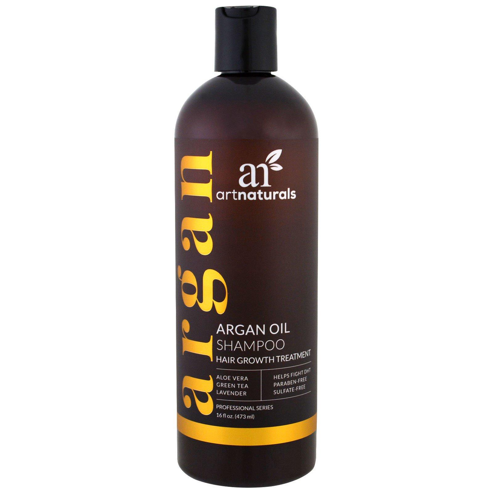 Artnaturals, Шампунь с аргановым маслом, средство для роста волос, 16 жидких унций (473 мл)