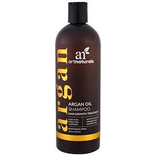 Artnaturals, 아르간 오일 샴푸, 모발 성장 트리트먼트, 16 fl oz (473 ml)