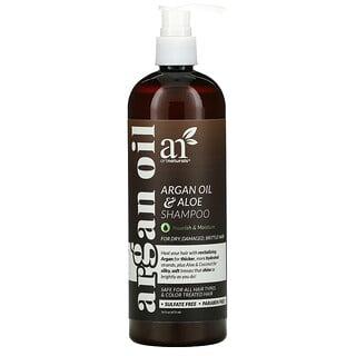 Artnaturals, Argan Oil & Aloe Shampoo, For Dry, Damaged, Brittle Hair, 16 fl oz (473 ml)