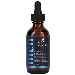 Artnaturals, Beard & Stache Oil, 2 fl oz (59 ml)