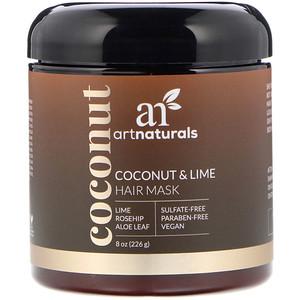 Арт Натуралс, Coconut & Lime Hair Mask, 8 oz (226 g) отзывы