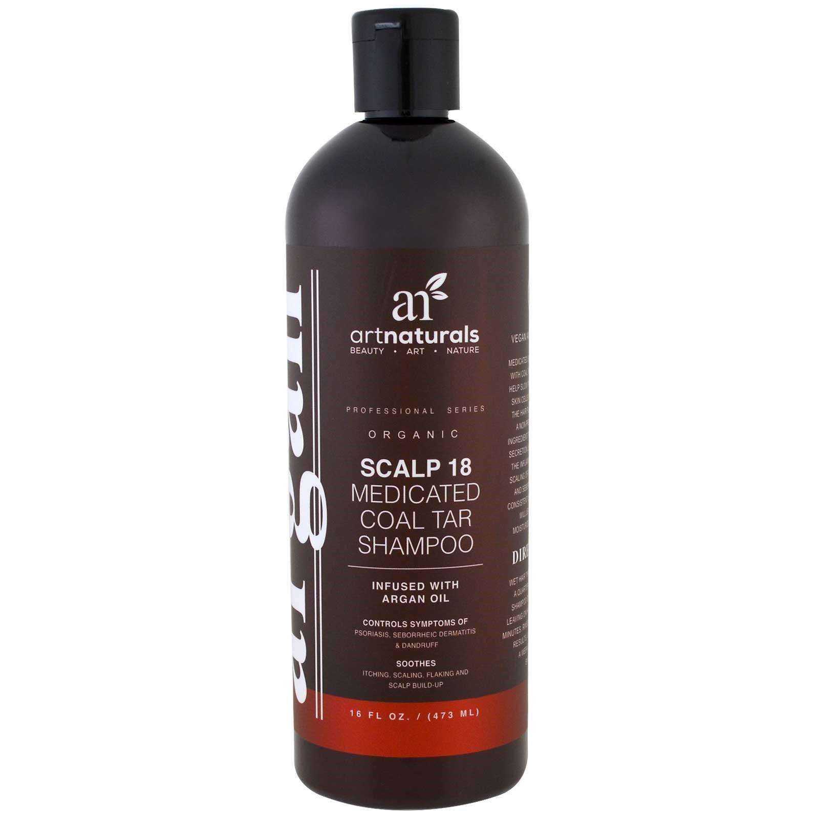 Artnaturals, Шампунь из арганового масла, терапия для предотвращения выпадания волос, 473 мл (16 унций)