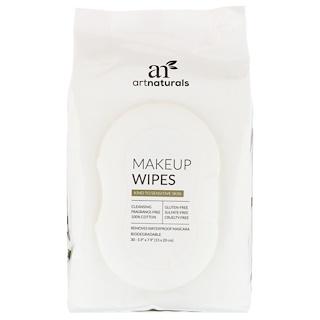 Artnaturals, Lenços Umedecidos para Maquiagem, 30 Lenços