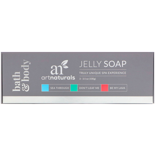 Artnaturals, Jelly Soap Set, 3 Soaps, 3.5 oz (100 g) Each