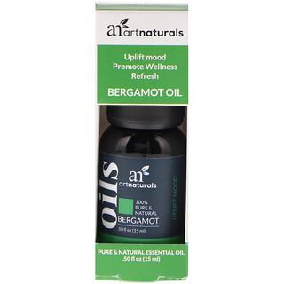 Artnaturals, Óleo de bergamota, 0,50 fl oz (15 ml)