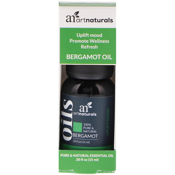 Bergamot Oil, .50 fl oz (15 ml)