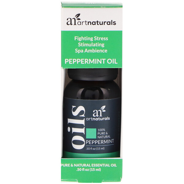 Artnaturals, Peppermint Oil, .50 fl oz (15 ml)
